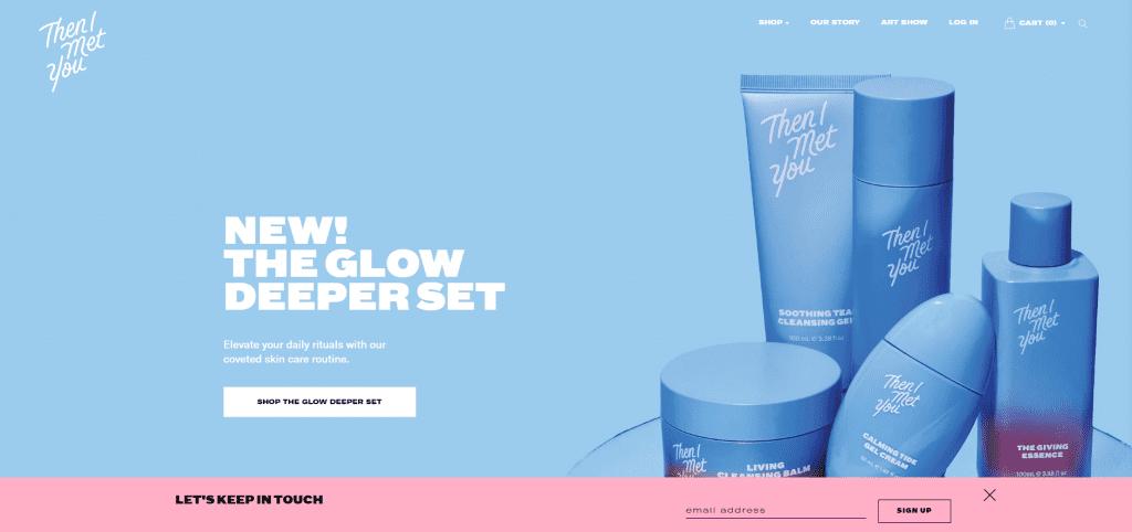 Un exemple de boutique réussie sur Shopify