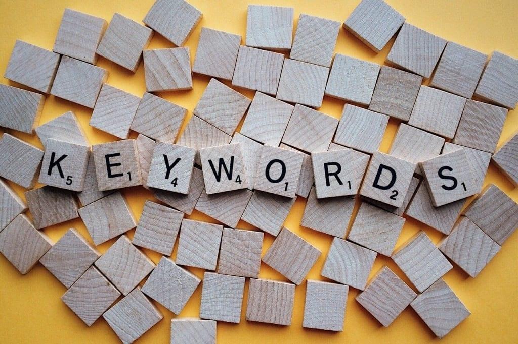 Outils de référencement naturel  - Google keywords