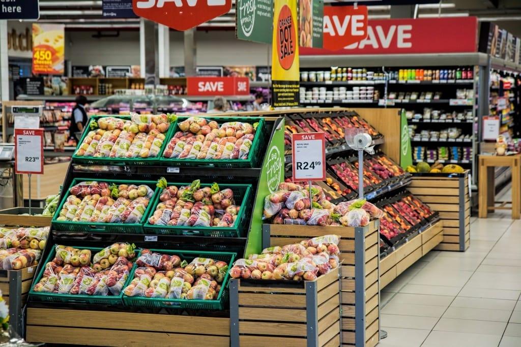 Commerce de détail - Le supermarché de la vente en détail